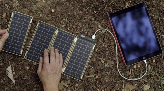 Yolk saules enerģijas uzlādes paneļi